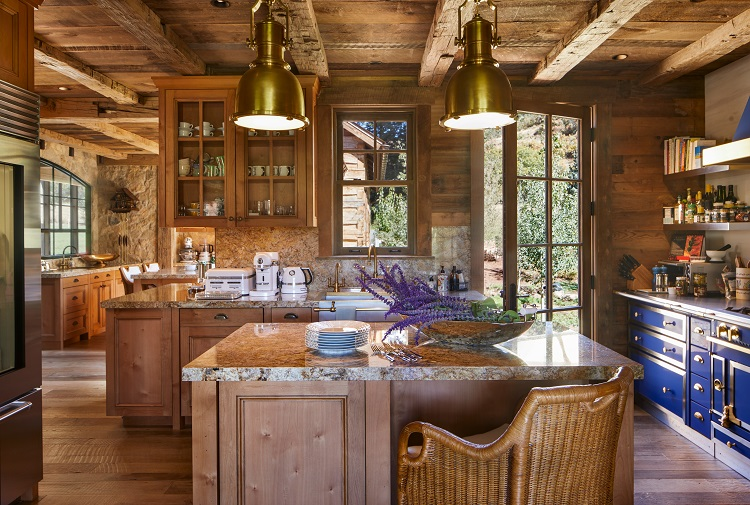 kitchen-luxury-mountain-retreat-in-aspen
